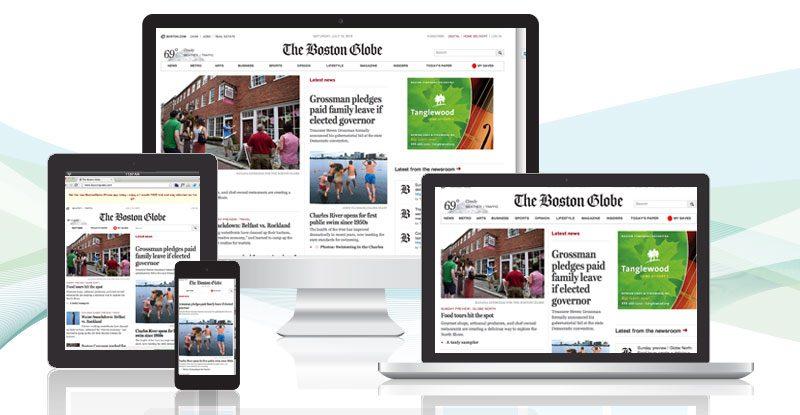The Boston Globe Uses Responsive Web Design