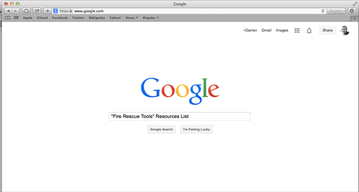 Use Google search to find niche opportunities.