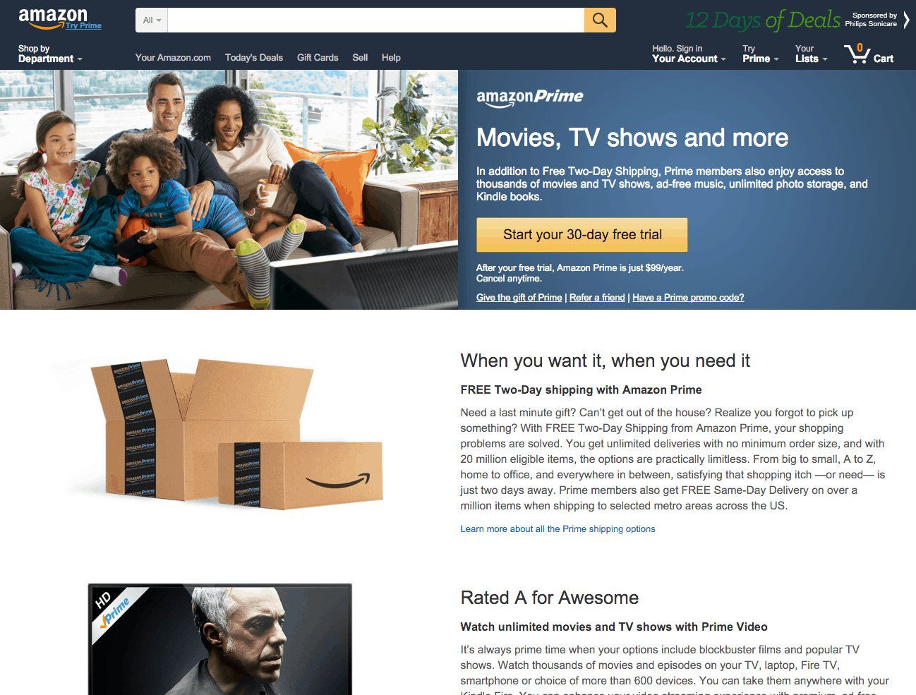 Amazon Prime Is A Great Example Of A Paid Membership Program