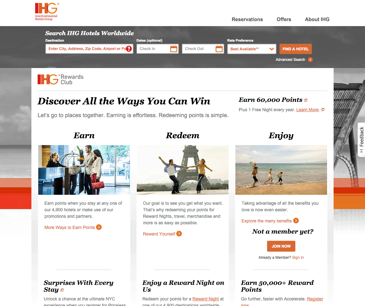 IHG® Rewards Club The World s Largest Hotel Loyalty Program