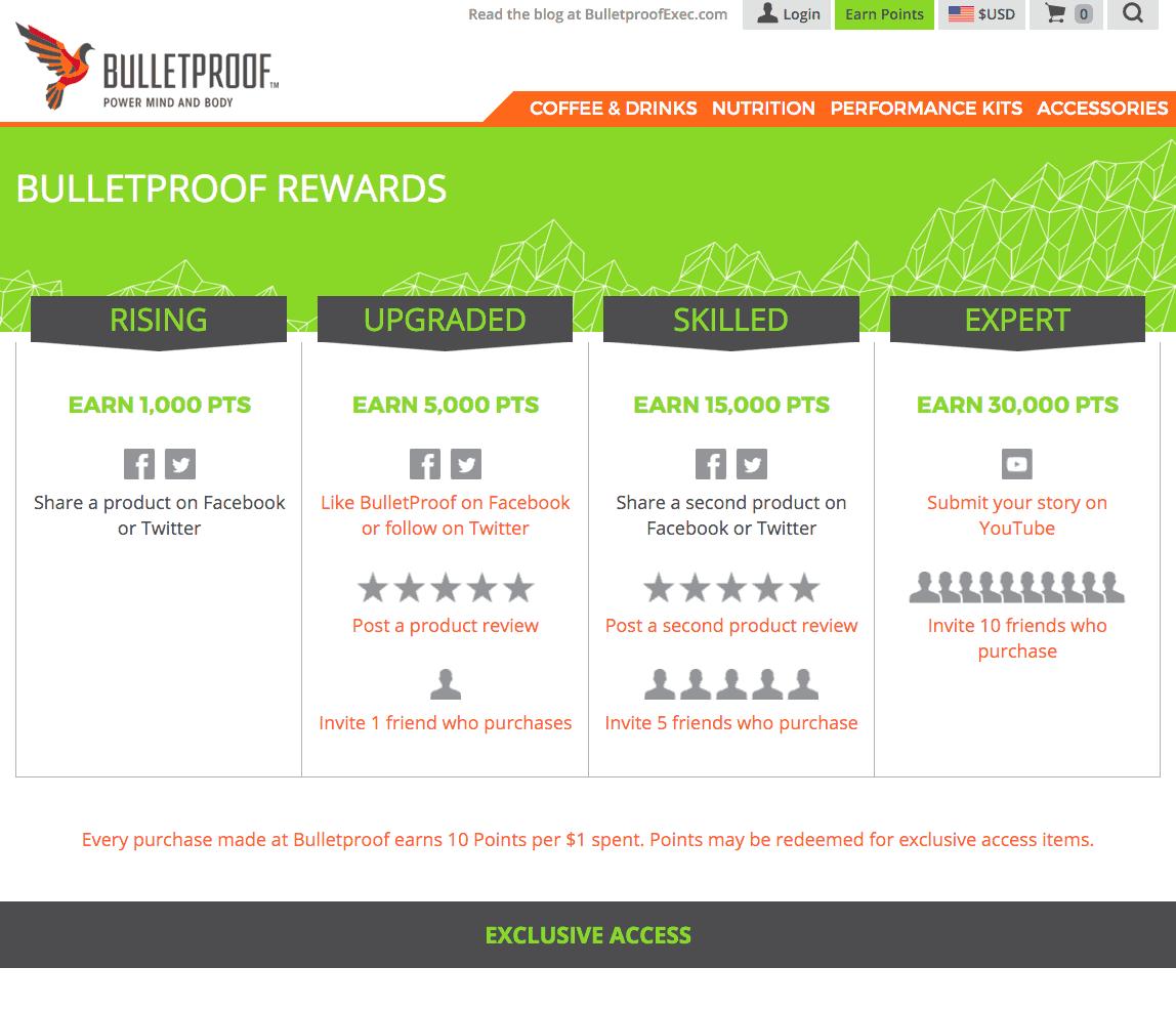 BulletProof: Milestones and exclusive