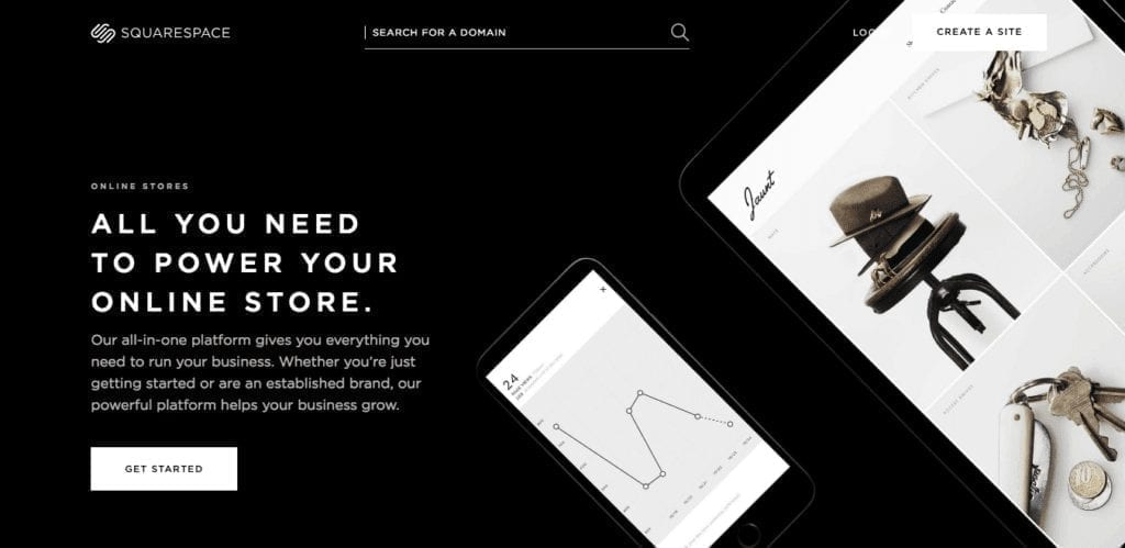 Online Stores — Squarespace