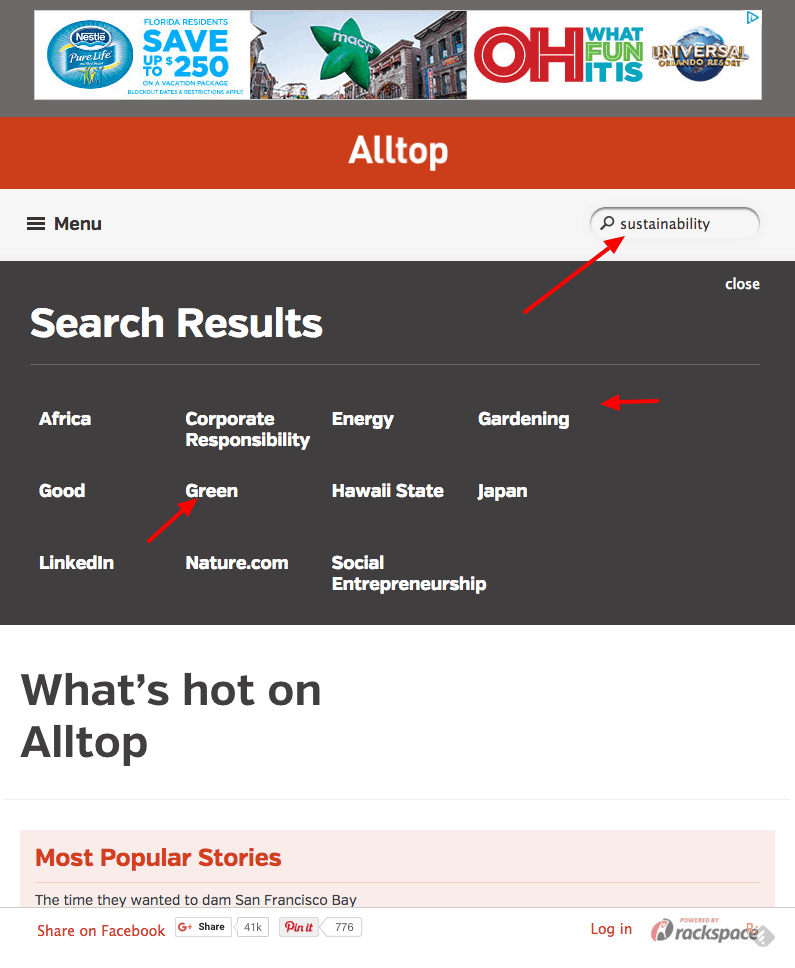 Alltop blogs