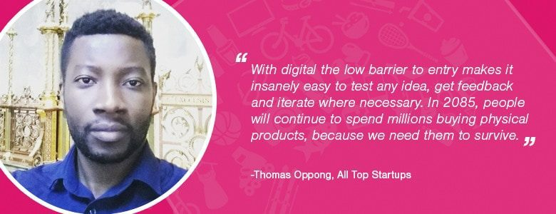 Thomas Oppong: Sales Tips