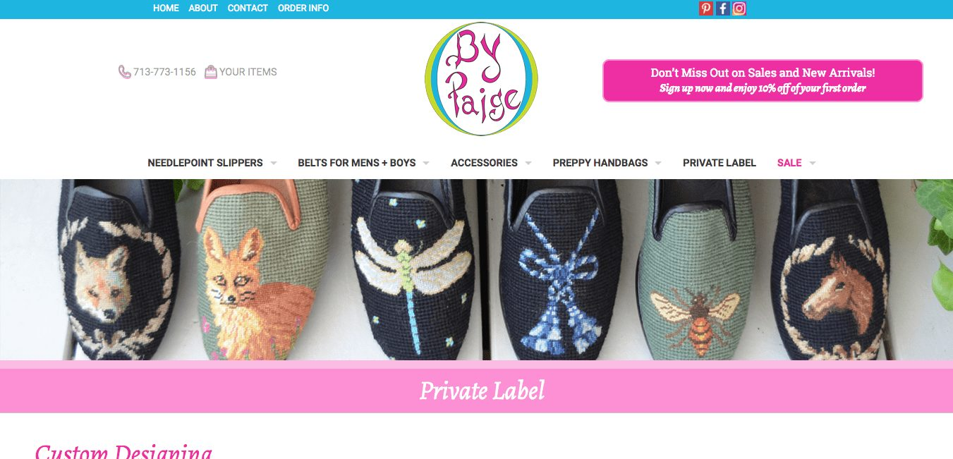 Private Label BY PAIGE