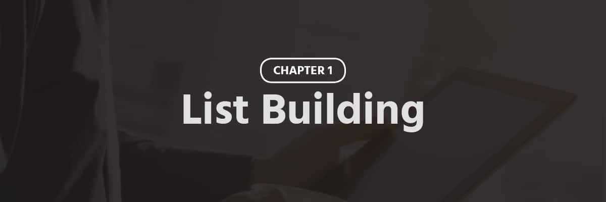 List Building For Ecommerce