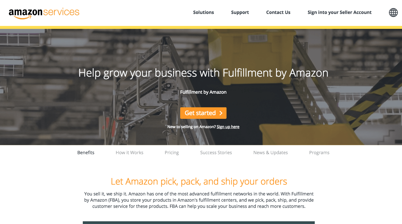 Fulfillment By Amazon FBA fulfillment services Amazon com