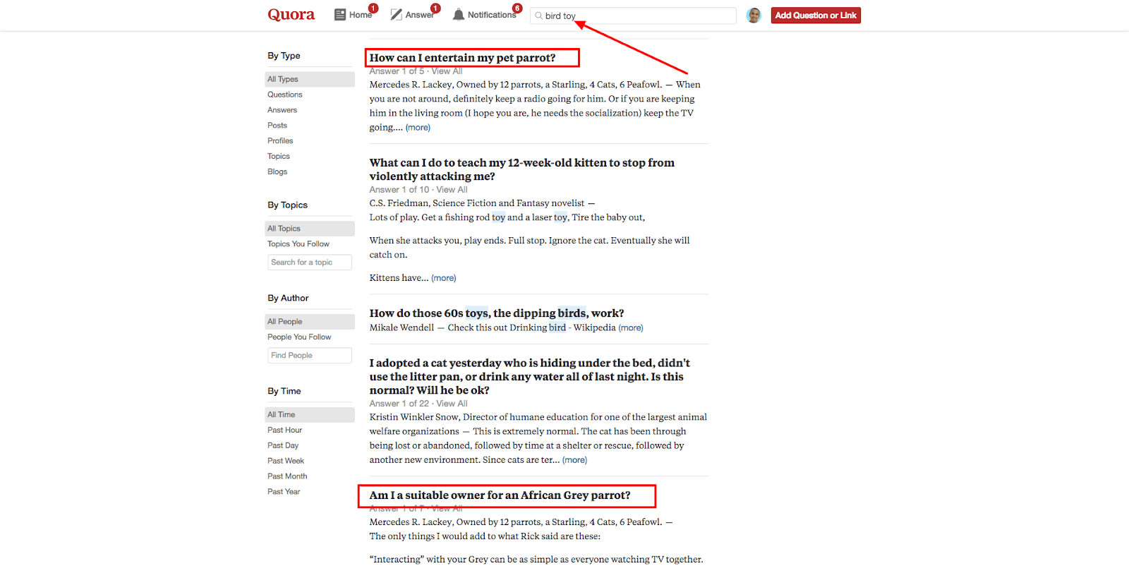Use Quora To Source For Ideas And Get Feedback