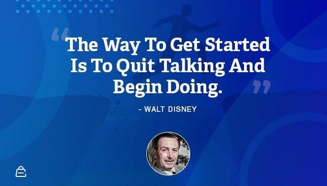 Quote 12 Walt Disney Talk Is Cheap