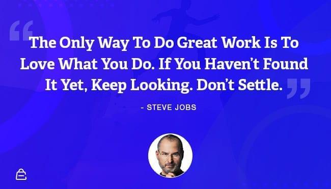 Quote 2 Steve Jobs Dont Settle