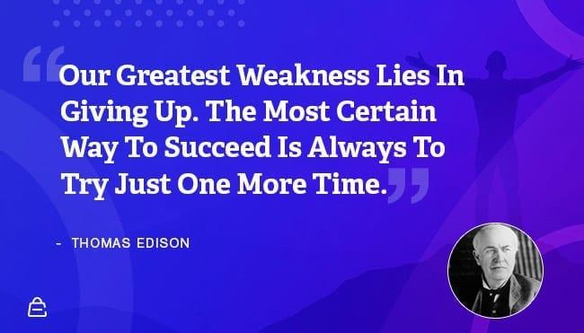 Quote 27 Thomas Edison