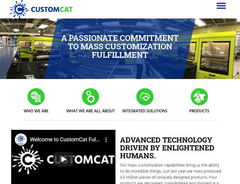 Create and Sell 100s of Products Online CustomCat com