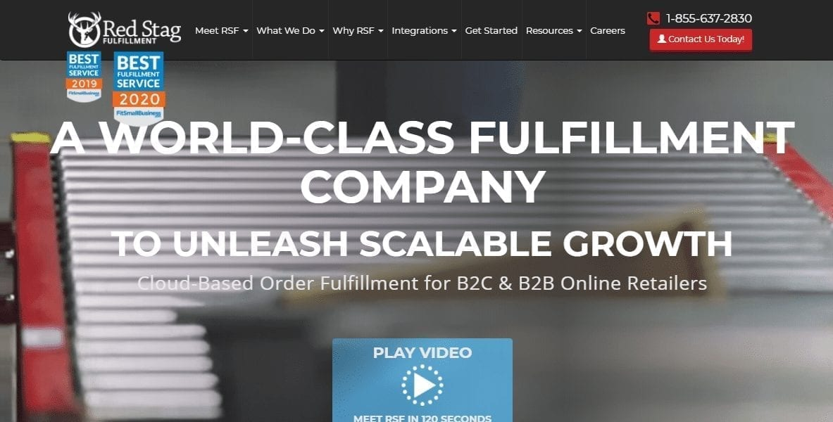 Experience A World Class Fulfillment Company Red Stag