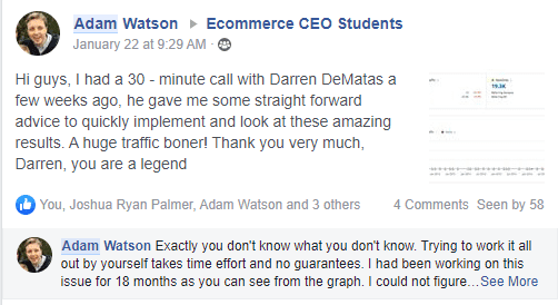 Ecommerce Ceo Students