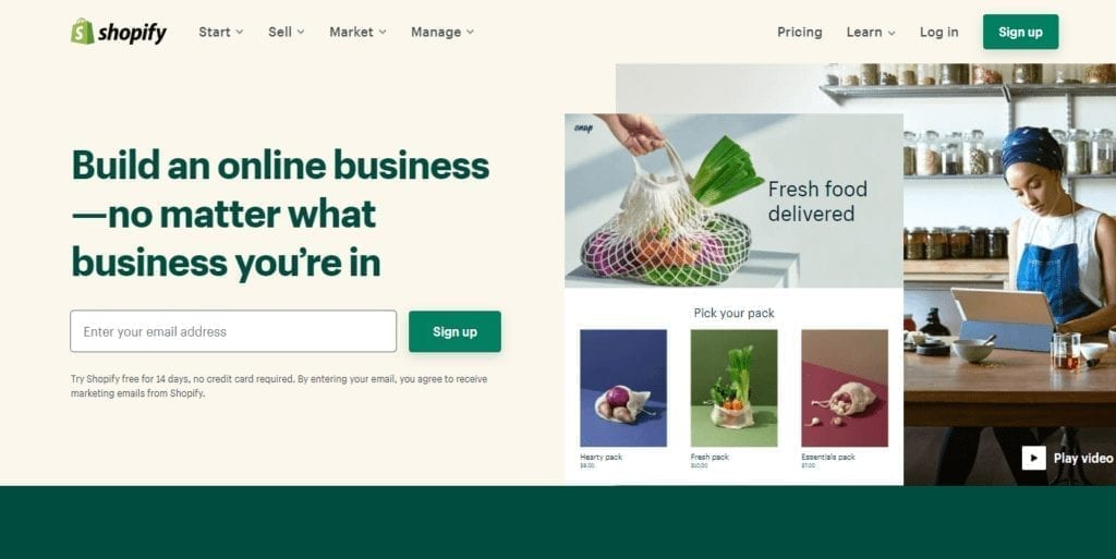 All In One Commerce Solution Ecommerce Software And Point Of Sale Shopify
