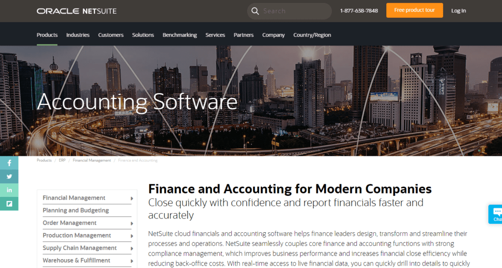 Cloud Accounting Software For Business Netsuite