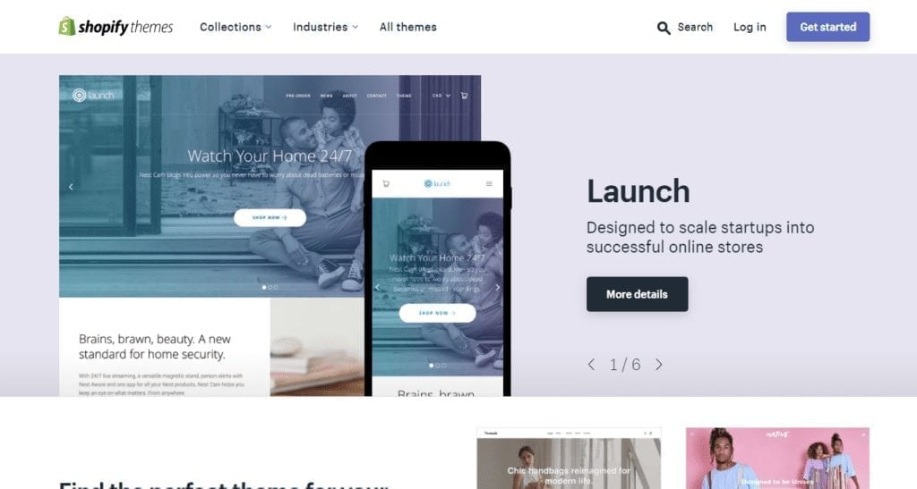 Ecommerce Website Templates Free And Premium Themes For Your Online Store