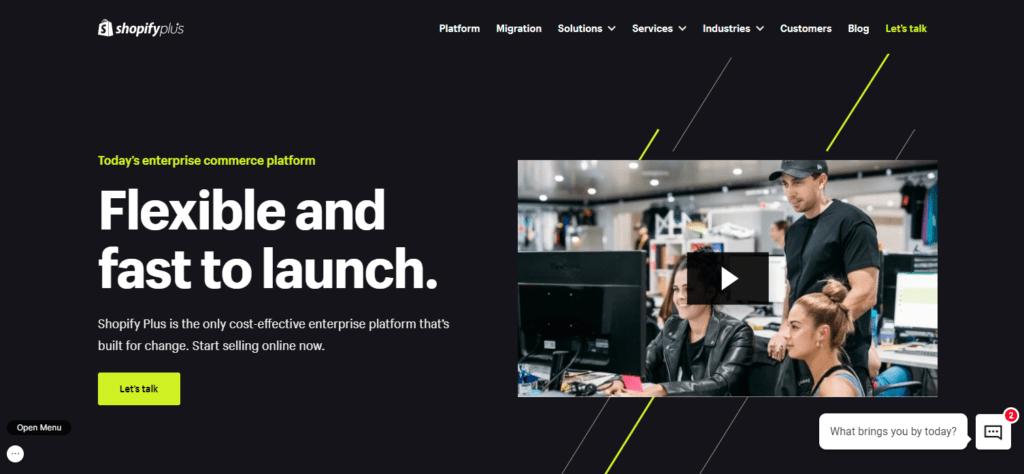 Enterprise Ecommerce Platform Scalable Software Solutions Shopify