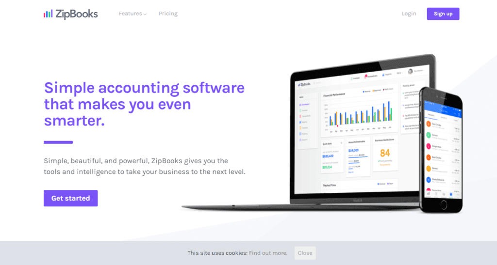Free Accounting Software Online Invoicing Zipbooks
