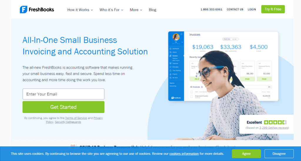 Invoice And Accounting Software For Small Businesses Freshbooks