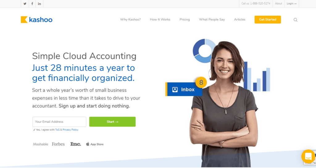 Simple Cloud Accounting For Small Businesses Kashoo