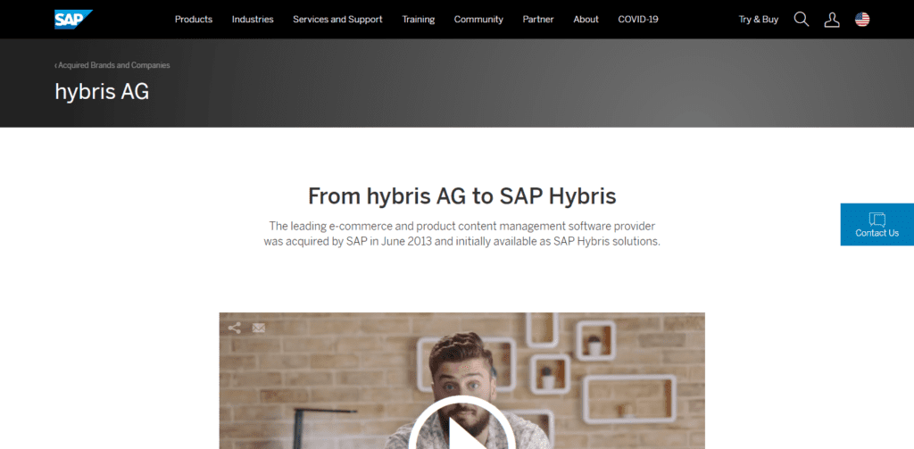 What Is Sap Hybris Ecommerce And Crm Software