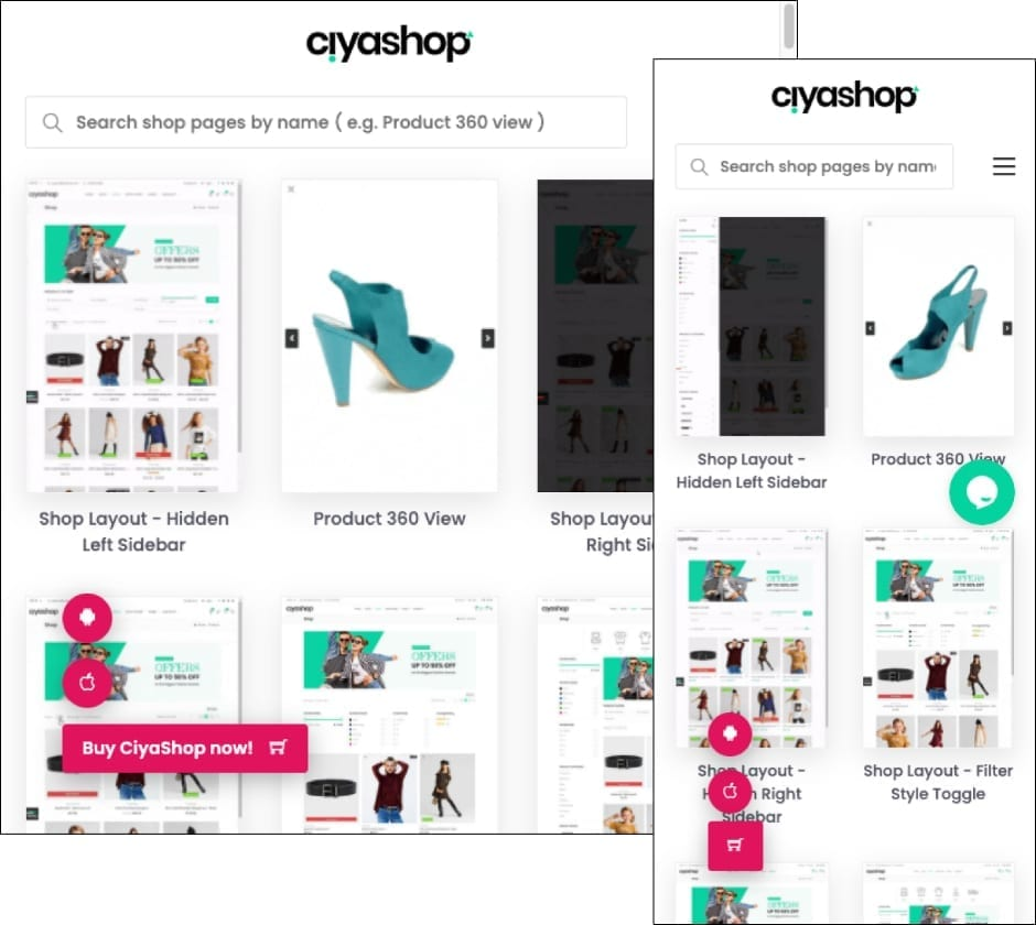 CiyaShop Theme