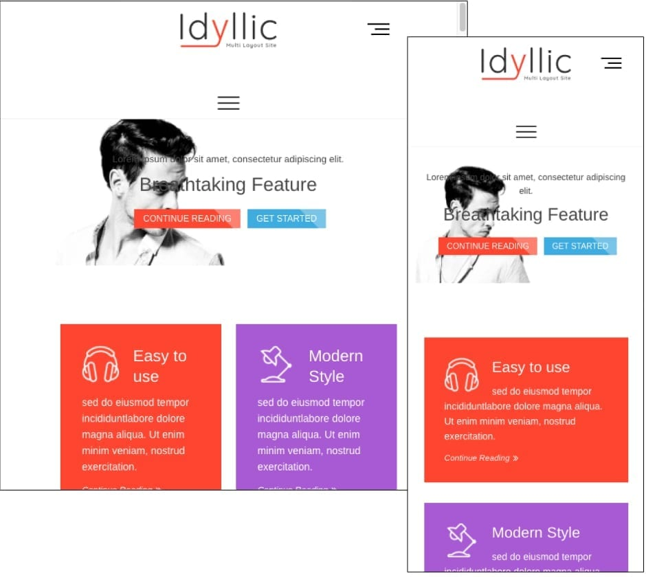 Idyllic Theme