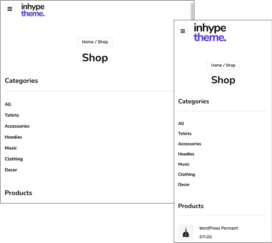 InHype Theme