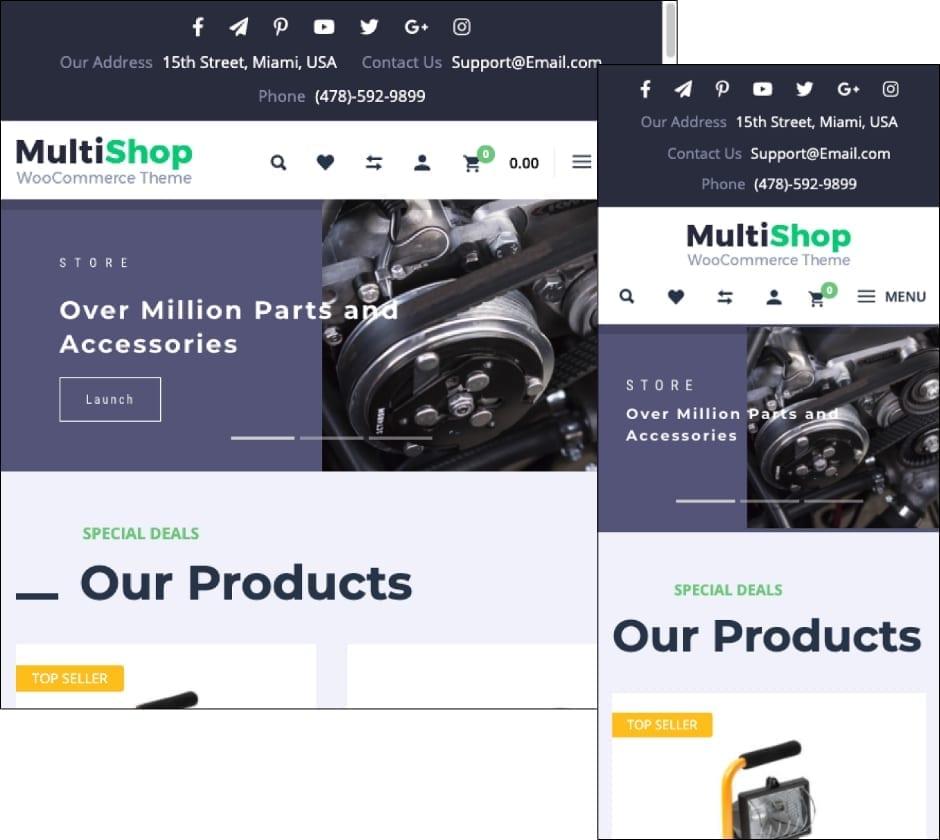 MultiShop Theme