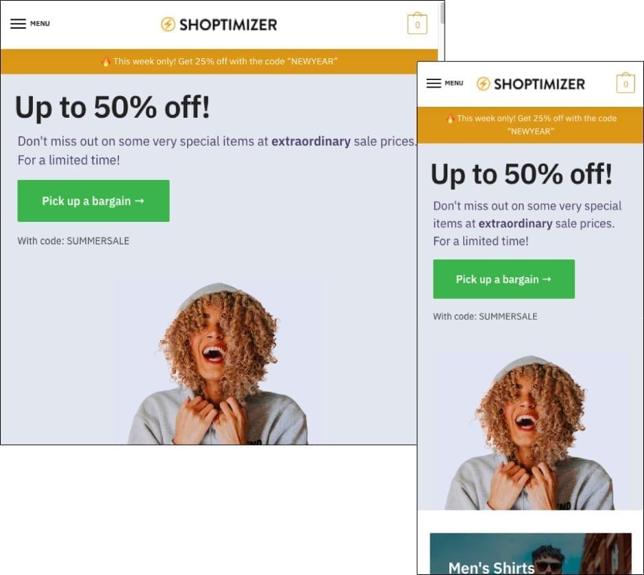 Shoptimizer Theme