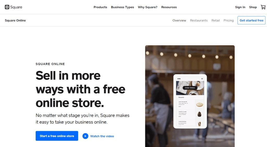 Sell Online Build a Free Online Store or eCommerce Website Square 1024x566 1