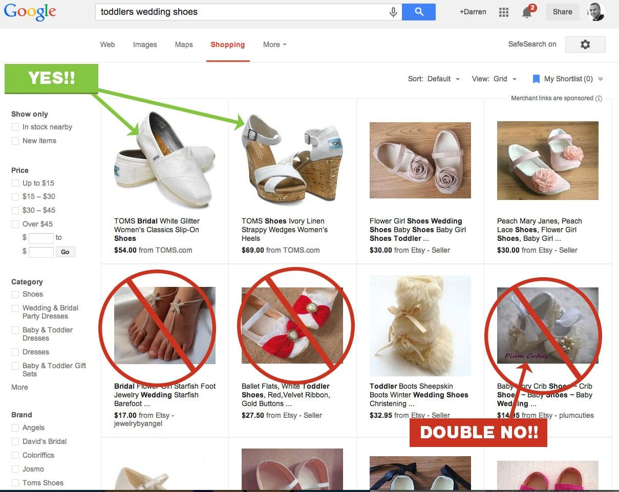 Product photos are a vital part of your ecommerce site and data feed. Google is going to crack down on poor images in shopping results. Busy backgrounds, watermarks and logos are a no-no.