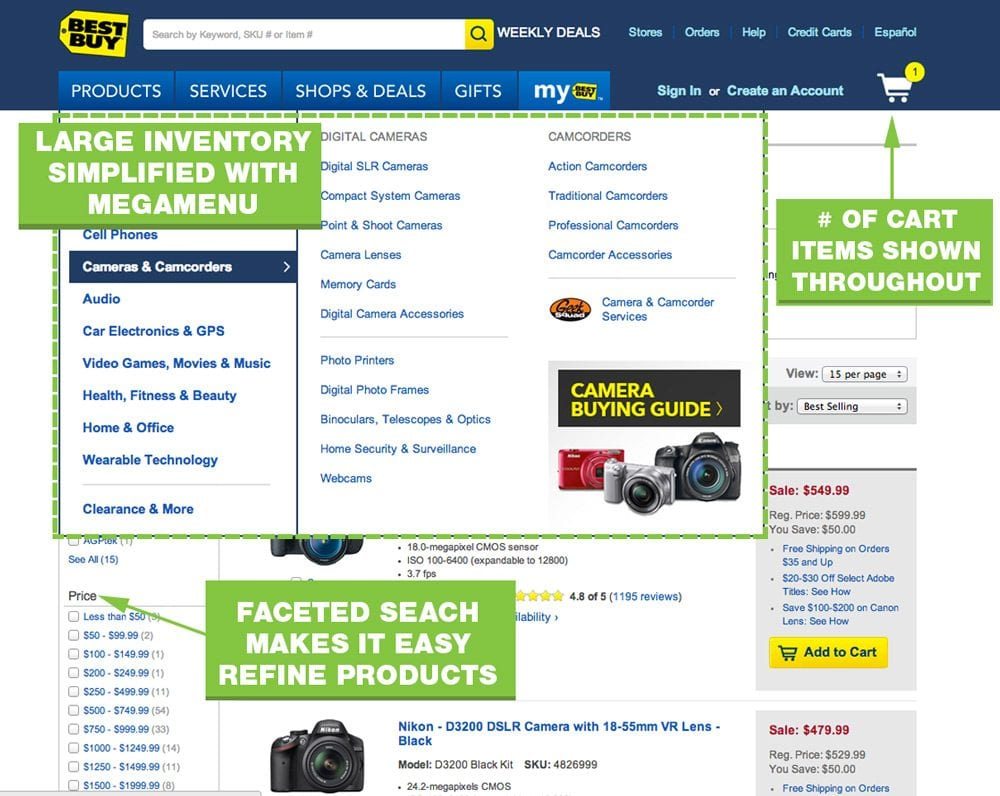 UX-Best-Practices-Best-Buy-Navigation